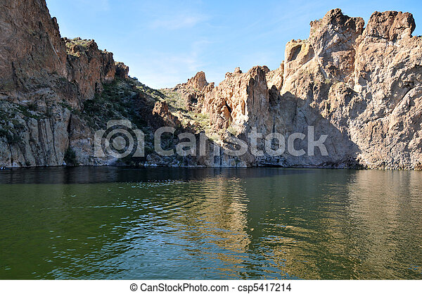 Canyon Lake, Arizona - csp5417214