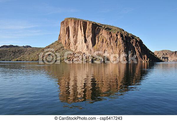 Canyon Lake, Arizona - csp5417243