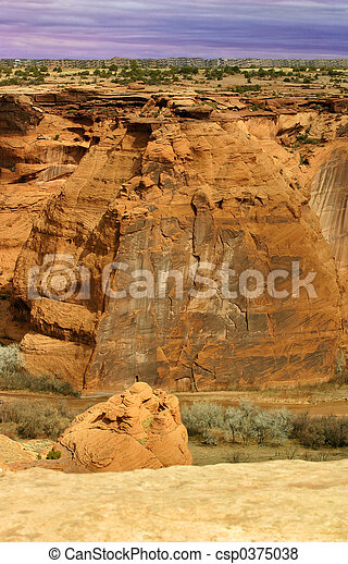 Canyon Wall - csp0375038
