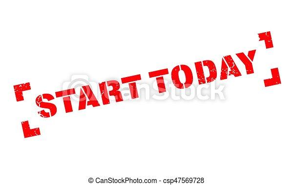 caoutchouc, début, aujourd'hui, timbre - csp47569728