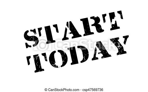 caoutchouc, début, aujourd'hui, timbre - csp47569736