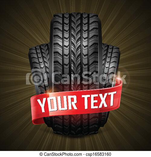 caoutchouc, pneus - csp16583160