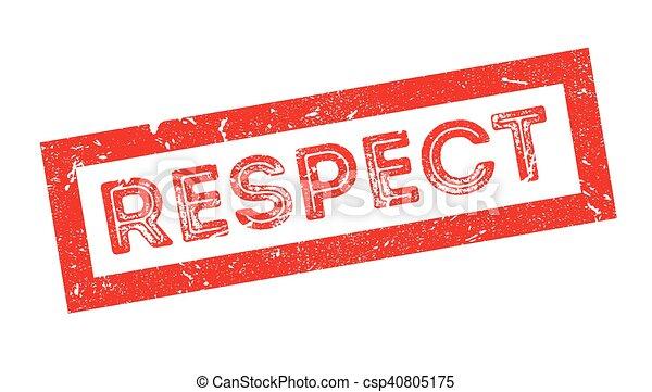 caoutchouc, respect, timbre - csp40805175