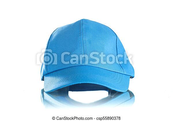 Cap on a white background - csp55890378