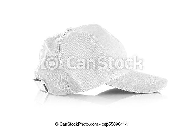 Cap on a white background - csp55890414