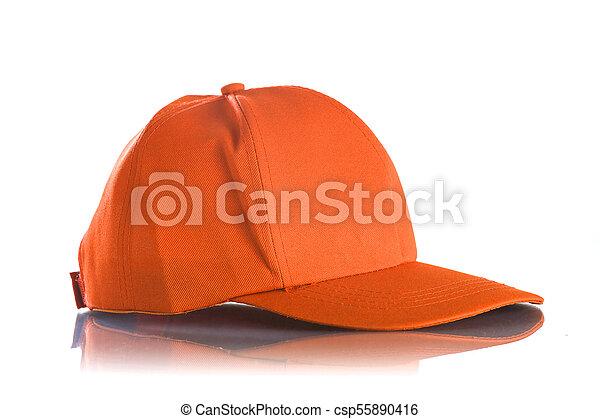 Cap on a white background - csp55890416
