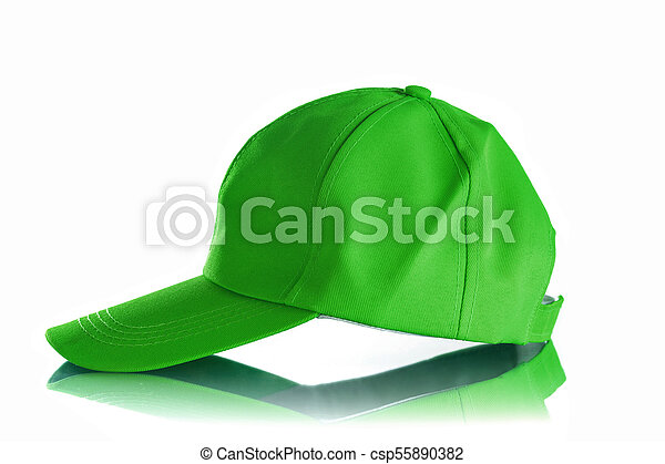 Cap on a white background - csp55890382