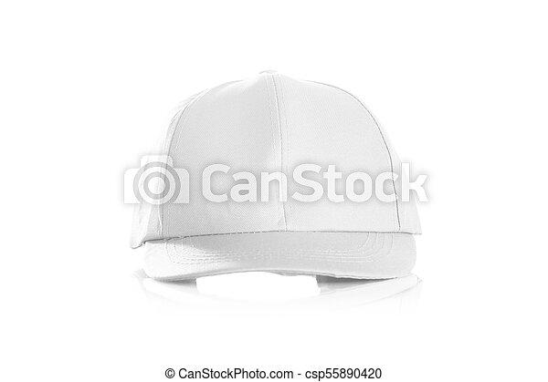 Cap on a white background - csp55890420