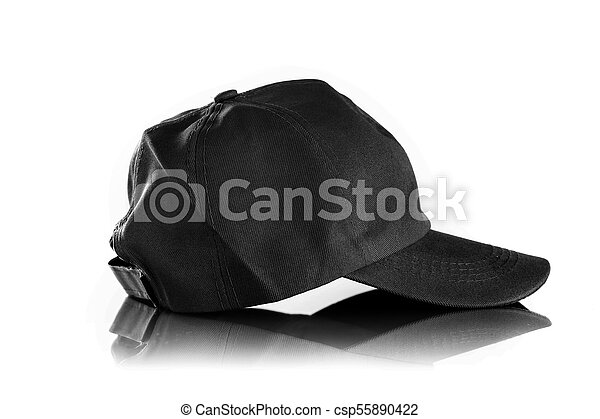 Cap on a white background - csp55890422