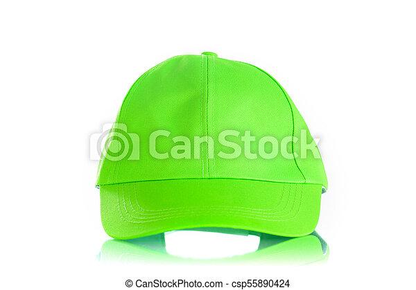 Cap on a white background - csp55890424