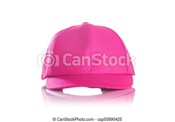 Cap on a white background - csp55890425