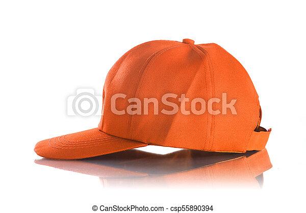 Cap on a white background - csp55890394