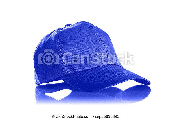 Cap on a white background - csp55890395