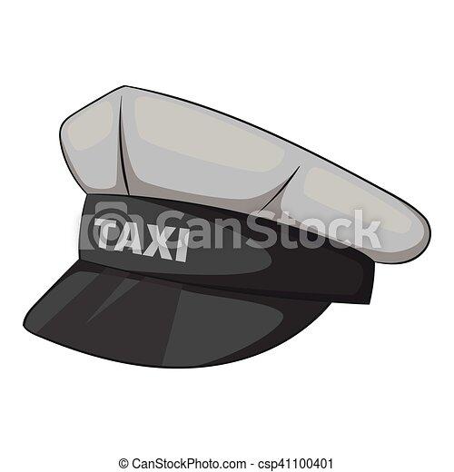 Cap taxi driver icon adf013effa49