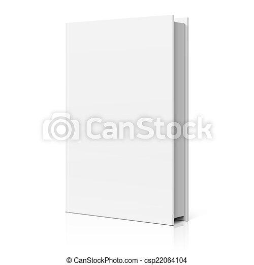 capa livro, em branco - csp22064104
