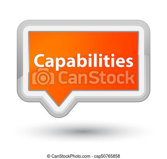Capabilities prime orange banner button - csp50765858