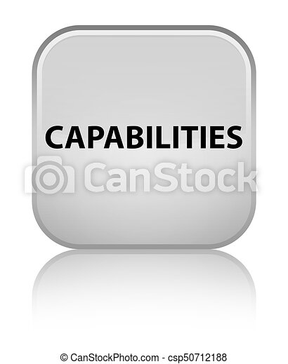 Capabilities special white square button - csp50712188