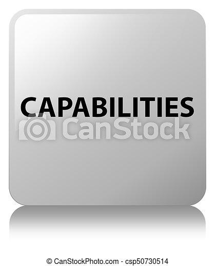 Capabilities white square button - csp50730514