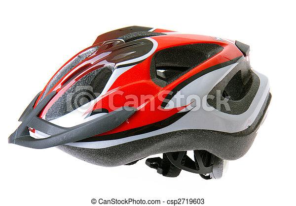 capacete, bicicleta - csp2719603