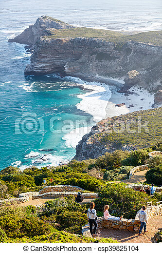 Cape of Good Hope in South Africa - csp39825104