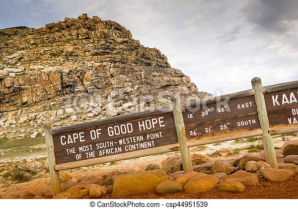 Cape of Good Hope Sign - csp44951539