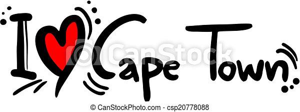 Cape town love - csp20778088
