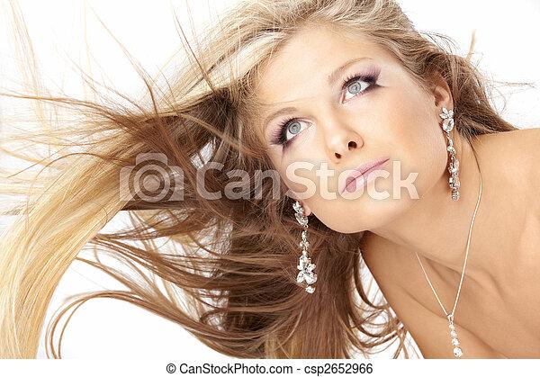 capelli volatori, biondo - csp2652966
