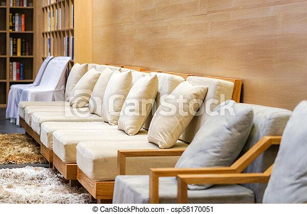 capet., touriste, classique, bois, sofa, accueil, bangkok, salon, crémeux,  vip, personne, luxe
