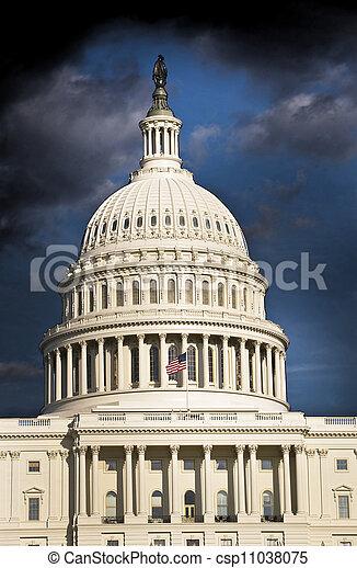 Capital Building. - csp11038075