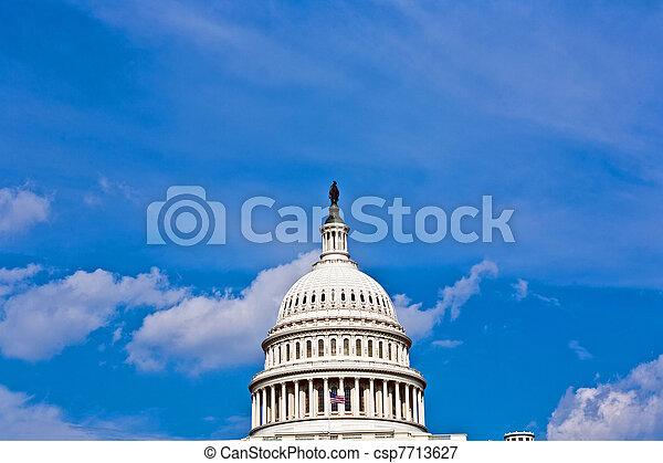 Capital Building, Washington - csp7713627