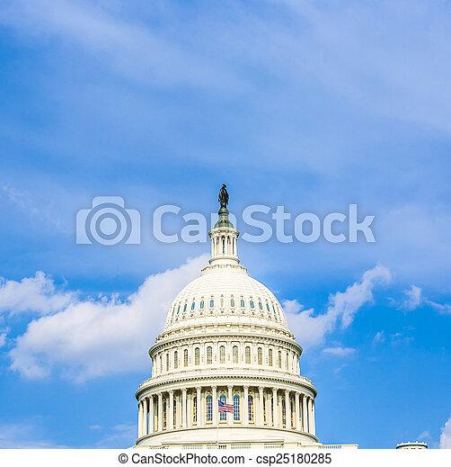 Capital Building, Washington - csp25180285