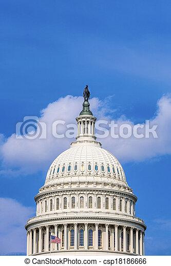 Capital Building, Washington - csp18186666