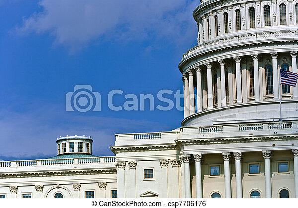 Capital Building, Washington - csp7706176