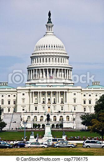 Capital Building, Washington - csp7706175