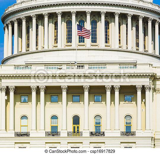 Capital Building, Washington - csp16917829