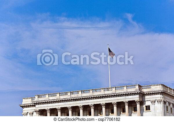 Capital Building, Washington - csp7706182