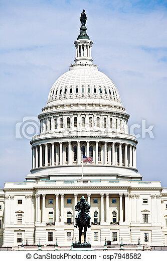 Capital Building, Washington - csp7948582