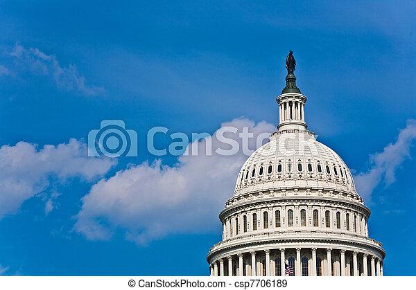 Capital Building, Washington - csp7706189