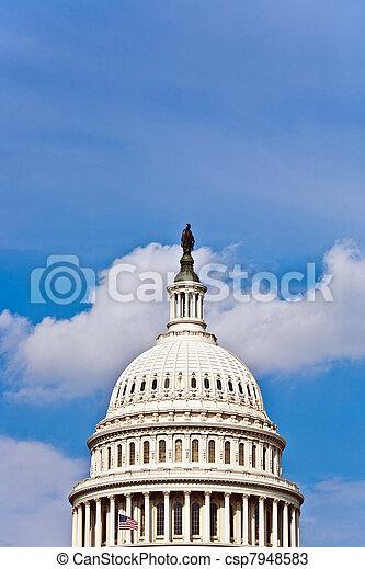 Capital Building, Washington - csp7948583