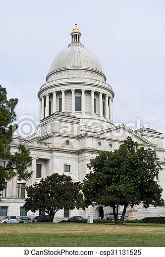 Capitol Building of Arkansas. - csp31131525