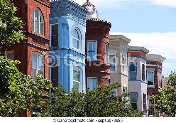 Capitol Hill, Washington - csp16073695