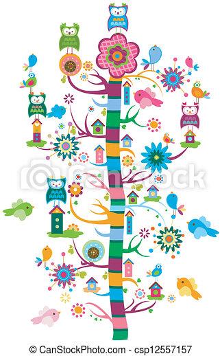 Jardín Whimsy - csp12557157