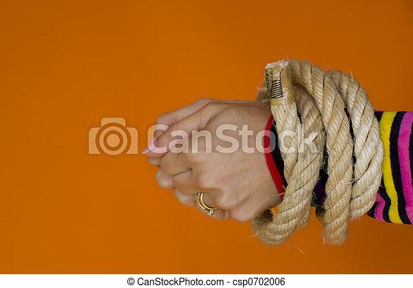 Captive woman 1 - csp0702006