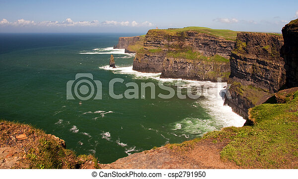 Captura de los acantilados de Moher, Irlanda - csp2791950