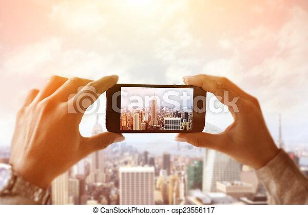 Capturing New York City - csp23556117