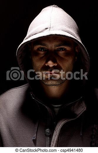 capuchon, homme - csp4941480