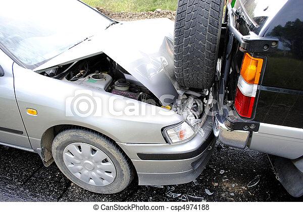 car accident - csp4974188
