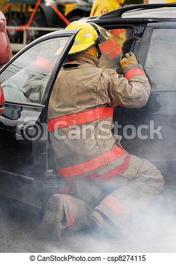 Car accident. - csp8274115