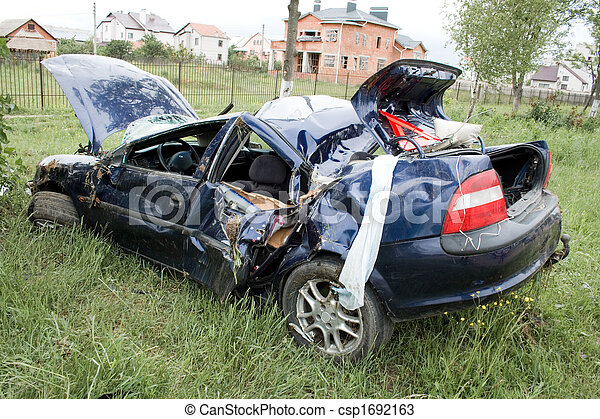 car accident - csp1692163