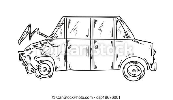 car accident - csp19676001